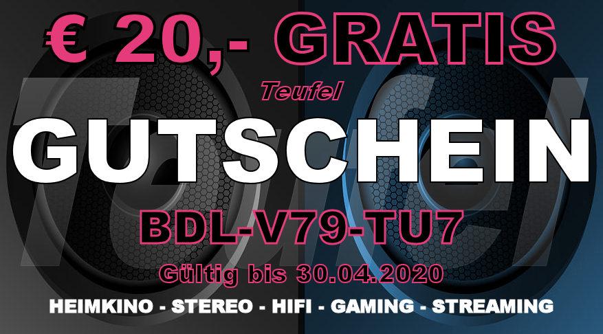 Teufel BDL-V79-TU7 - Gutschein