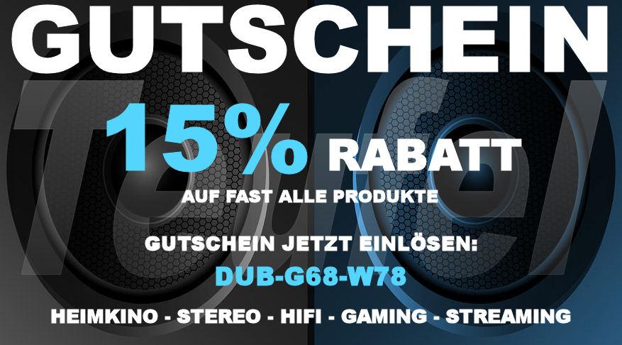 Teufel DUB-G68-W78 - Gutschein