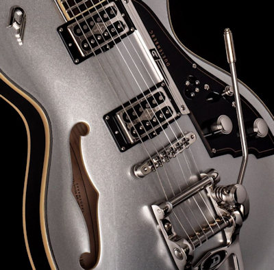 Duesenberg Starplayer TV 25th Anniversary Metallic Silver