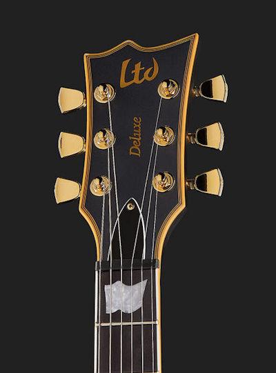 ESP LTD EC-1000 E-Gitarre Vintage Schwarz