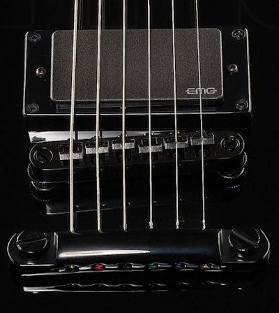 ESP LTD EC-401 E-Gitarre schwarz