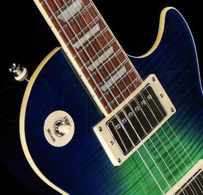 Epiphone Les Paul Tribute Plus Aqua