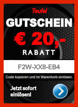Teufel F2W-XX8-EB4 - Gutschein