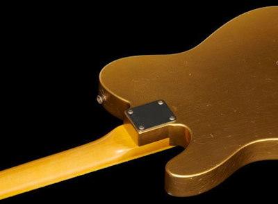 Fender 63 Tele Aztec Gold Bound Relic