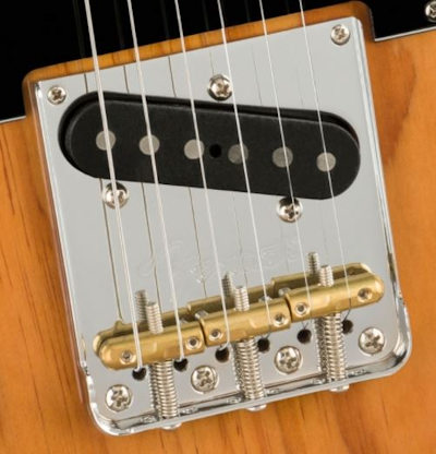 Fender AM Pro II Tele MN RST PINE