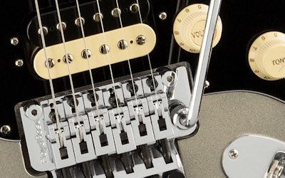 Fender AM Ultra Luxe Strat HSS FR SB