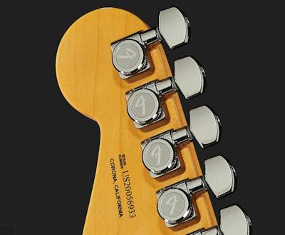 Fender AM Ultra Strat MN HSS Arctic Pearl