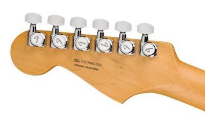 Fender AM Ultra Strat MN HSS TexasTea