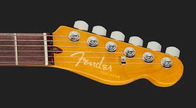Fender AM Ultra Tele RW Arctic Pearl