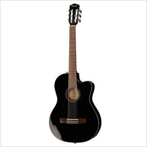 Fender CN-140SCE Thinline Black