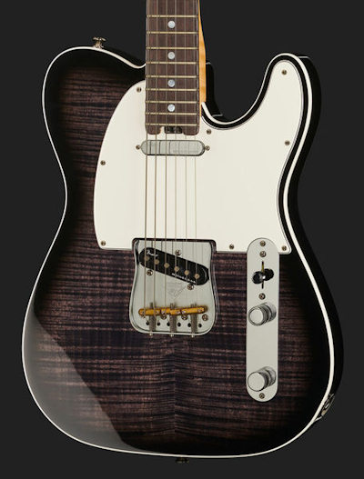 Fender Elite Tele FMT Trans EB RW NOS