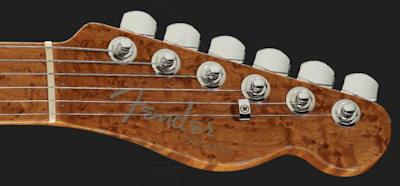Fender Elite Tele QMT Sapphire NOS