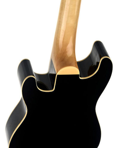 Fender Fullerton Strat Ukulele Black
