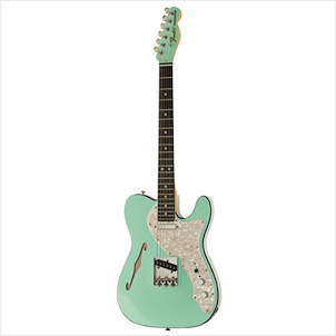 Fender LTD Two-Tone Tele EB SFG