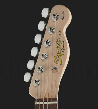 Fender Squier Affinity Tele Green IL