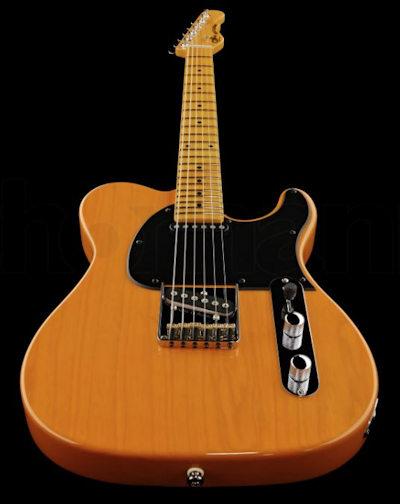 G&L Tribute Asat Classic Butterscotch Blond