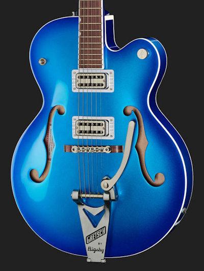 Gretsch G6120T-HR Brian Setzer Candy Blue