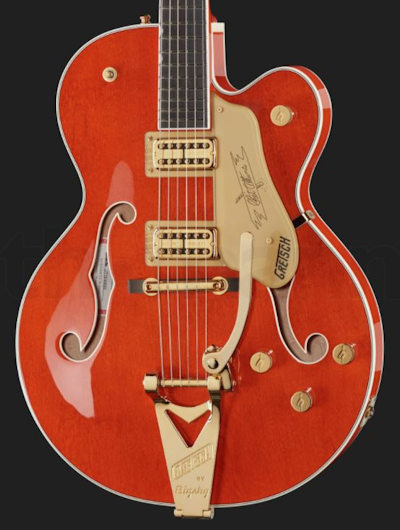 Gretsch G6120T Nashville Orange Stain