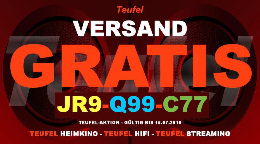 Teufel JR9-Q99-C77 - Gutschein