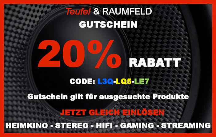 Teufel L3Q-LQ5-LE7 - Gutschein
