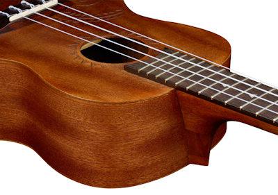 Luna Guitars Ukulele Concert Tattoo