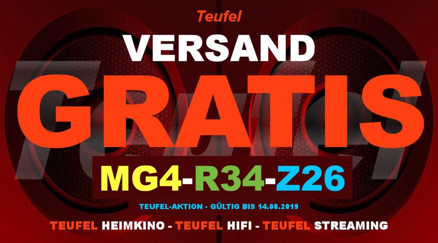 Teufel MG4-R34-Z26 - Gutschein