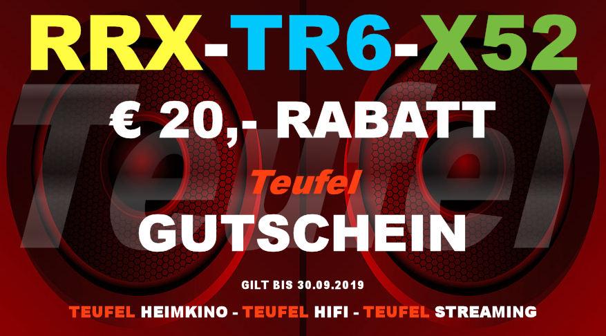 Teufel RRX-TR6-X52 - Gutschein