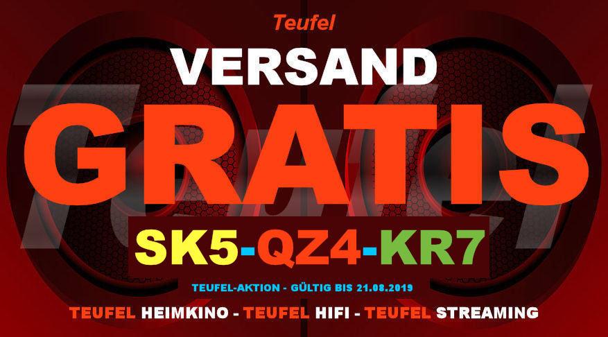 Teufel SK5-QZ4-KR7 - Gutschein
