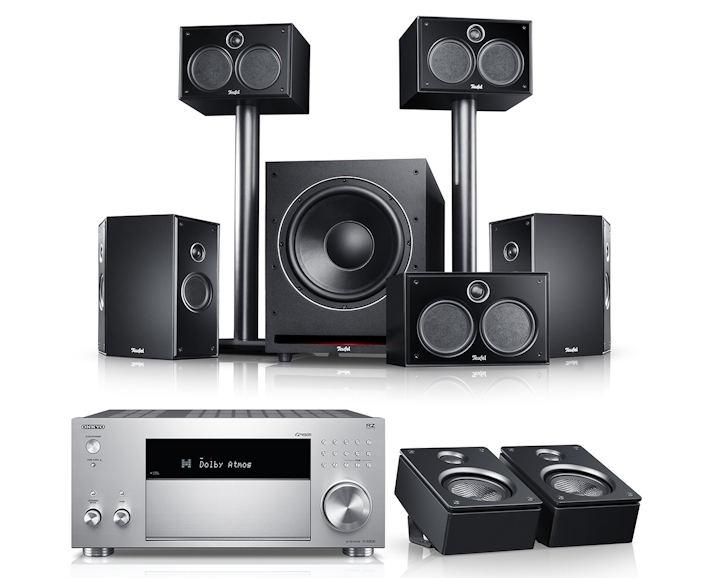 Teufel System 6 AVR für Dolby Atmos