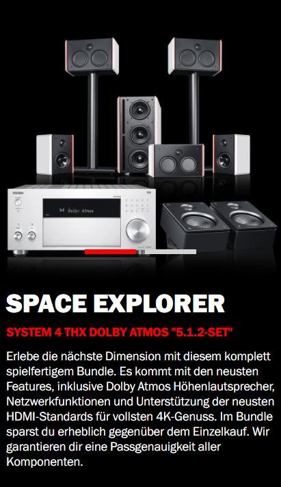 System 4 THX AVR für Dolby Atmos
