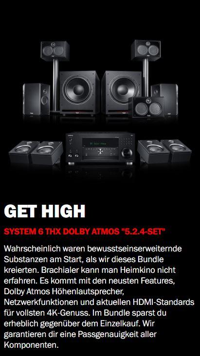 System 6 THX AVR für Dolby Atmos