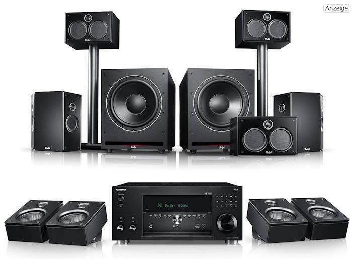 System 6 THX AVR Dolby Atmos - 5.2.4-Set