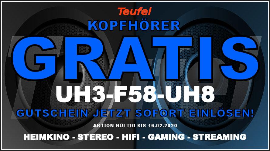 UH3-F58-UH8 – Teufel-Gutschein: Kopfhörer MOVE PRO – GRATIS