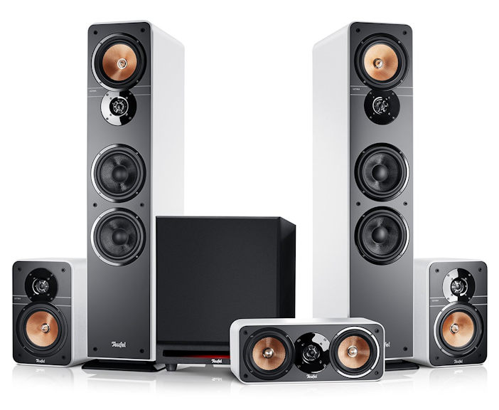 Ultima 40 Surround Power Edition 5.1-Set