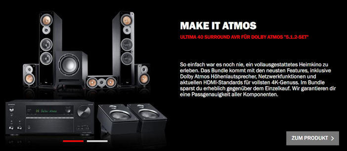 Ultima 40 Surround AVR - Dolby Atmos