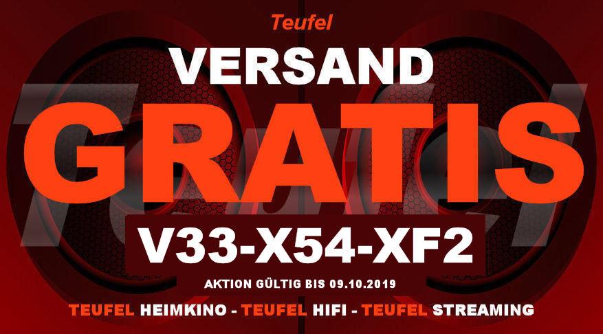 Teufel V33-X54-XF2 - Gutschein