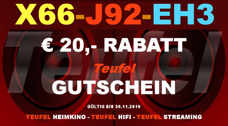 Teufel X66-J92-EH3 - Gutschein