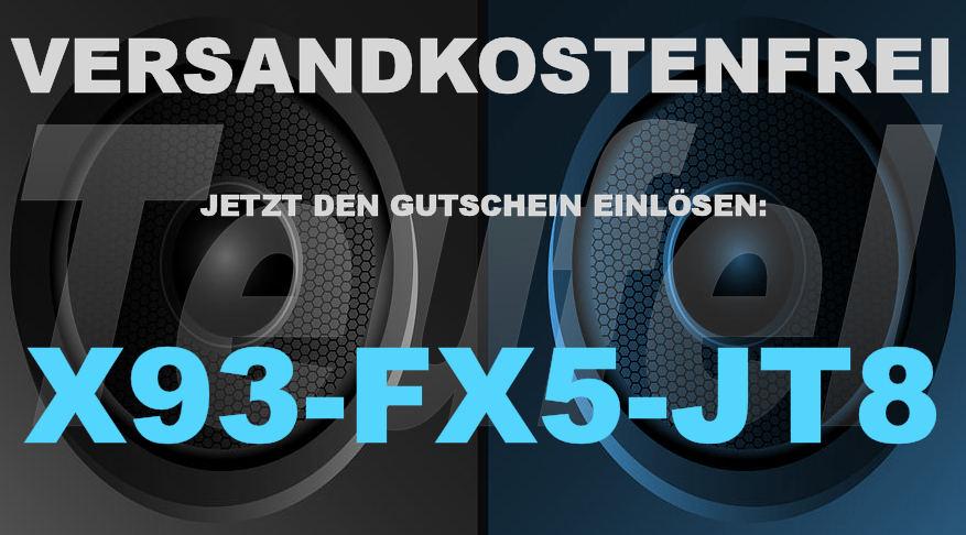 Teufel X93-FX5-JT8 - Gutschein