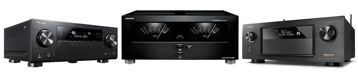 AV-Receiver, HiFi-Stereo-Receiver