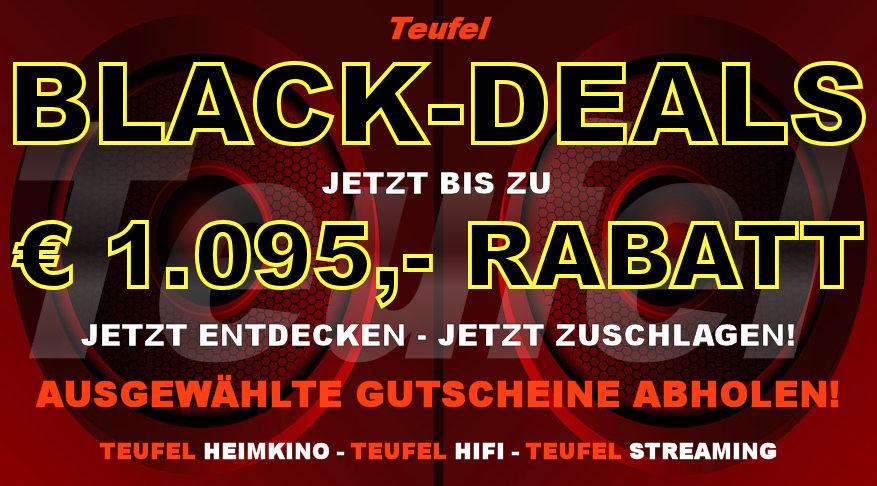 Teufel BLACK-DEALS-2019