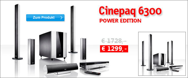 Cinepaq 6300 Power Edition - Aktion