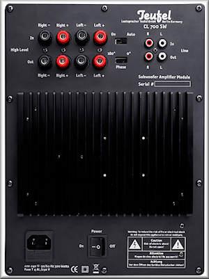 CL 700 SW Amplifier