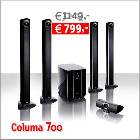 Columa 700 Heimkino-Set mit Jubiläums-Rabatt