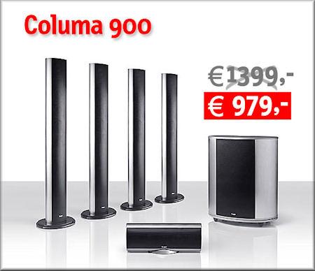 Columa 900 Heimkino-Set mit Jubiläums-Rabatt