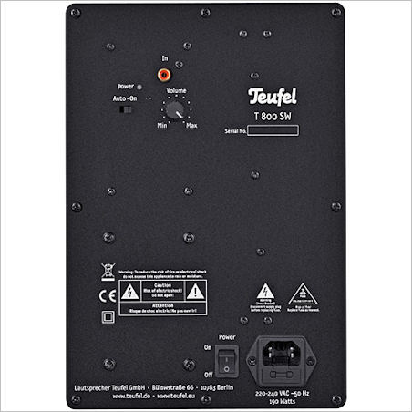 Columa 200 - Amplifier T 800 SW