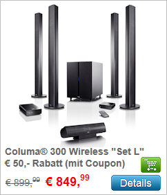 Columa 300 Wireless Set L