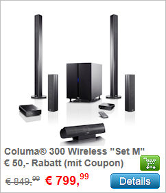 Columa 300 Wireless Set M