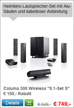 Columa 300 5.1 Wireless