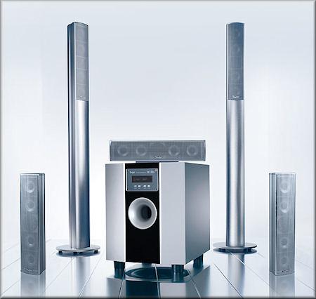 Concept S +R - 2 Säulen, 3 Satelliten