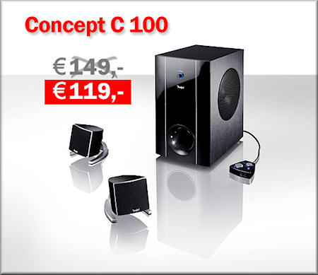 Concept C 100 -Aktion